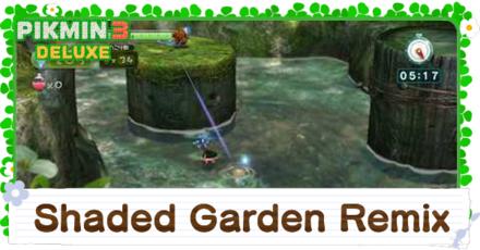 Shaded Garden Remix Platinum Medal Walkthrough
