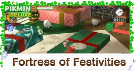 Fortress of Festivities Platinum Medal Walkthrough