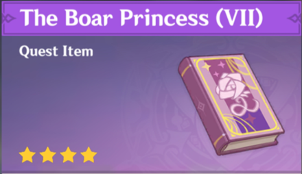 How to Get The Boar Princess (VII) and Effects