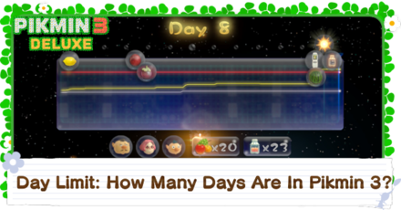 How Many Days Are In Pikmin 3?