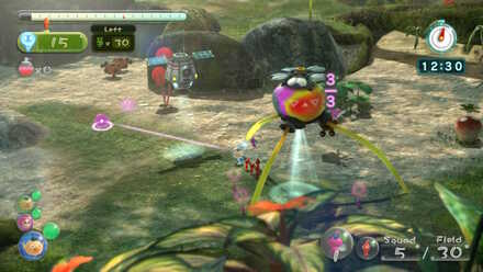 Colleceting first Winged Pikmin.jpg