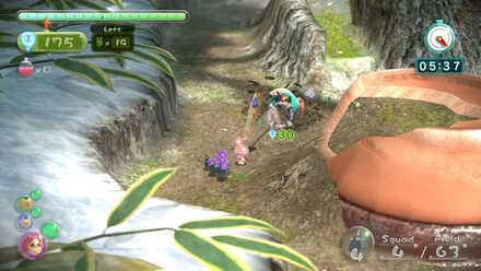 Getting the Rock Pikmin on the pot.jpg