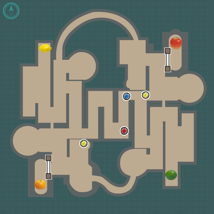 Rusted Labyrinth Layout 3