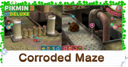 Corroded Maze Banner Image