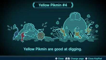 Yellow Pikmin #4 Image