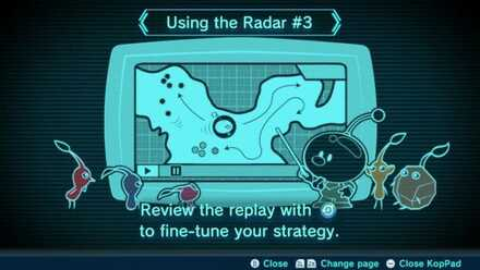 Using the Radar #3 Image