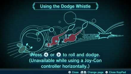 Using the Dodge Whistle Image