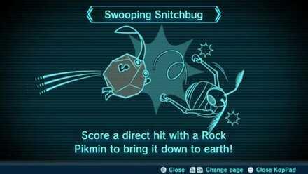 Swooping Snitchbug Image