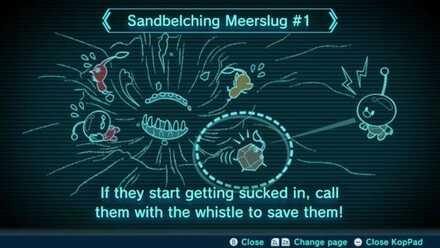 Sandbelching Meerslug #1 Image