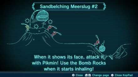 Sandbelching Meerslug #2 Image