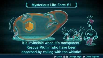 Mysterious Life-Form #1 Image