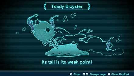 Toady Bloyster Image