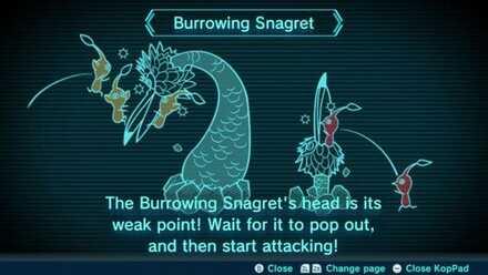 Burrowing Snagret Image
