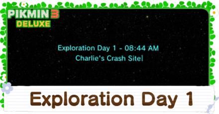 Exploration Day 1