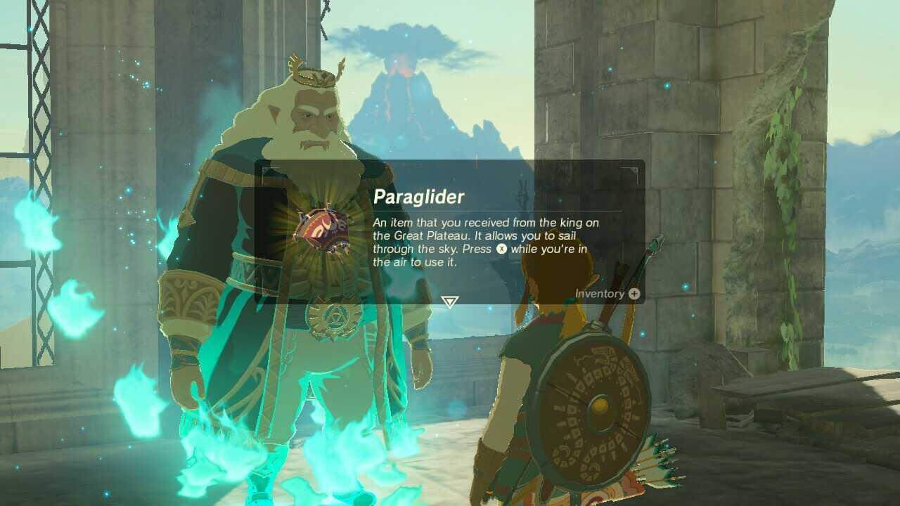 BotW - Get the Paraglider