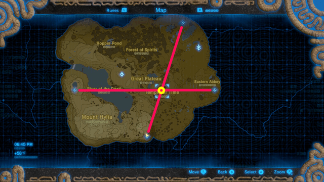 BotW - Go to the Temple of Time