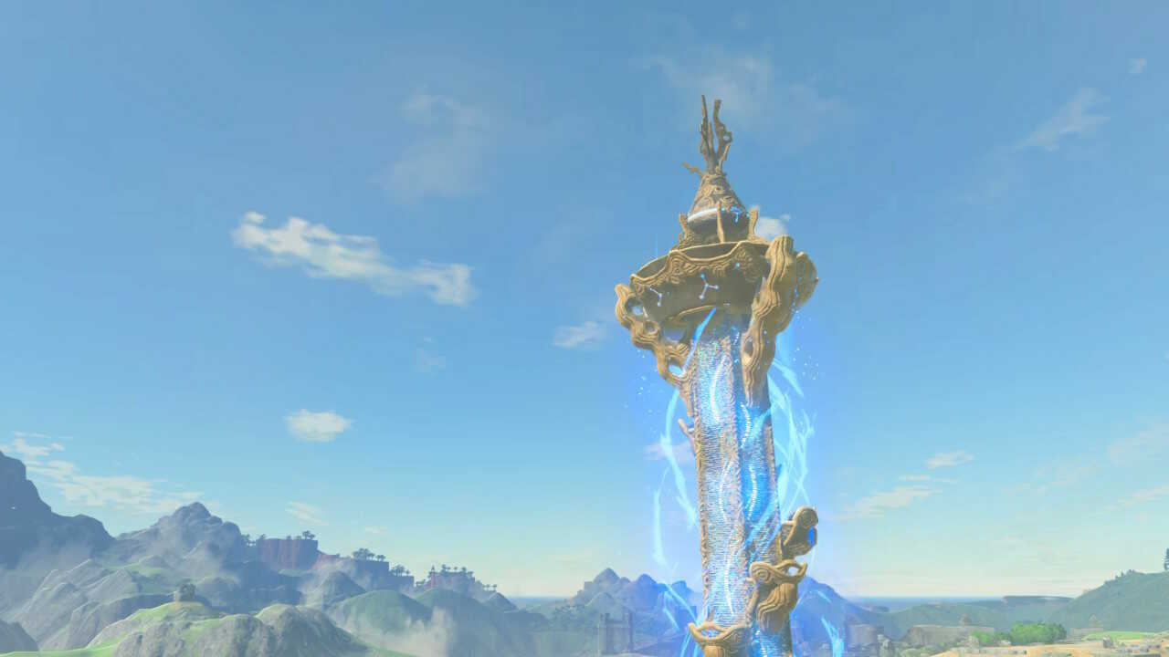 BotW - Activate the Great Plateau Tower