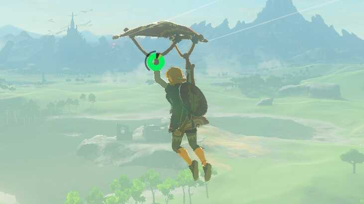 Breath of the Wild (BotW) How to Get the Paraglider