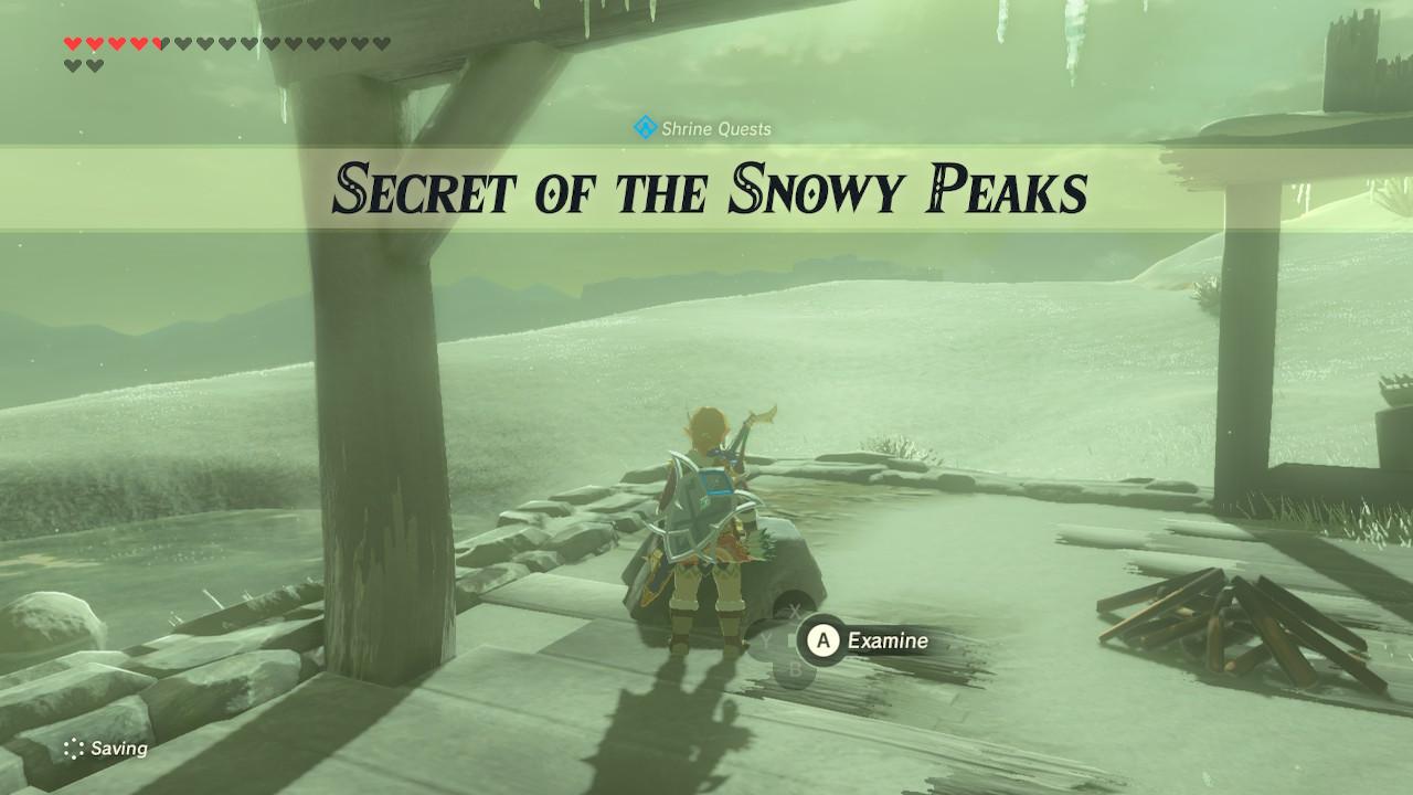 Secret Of The Snowy Peaks Walkthrough Zelda Breath Of The Wild Botw Game8 Be careful of dung beetles! snowy peaks walkthrough zelda breath