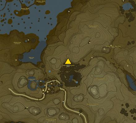 Great Fairy Cotera Location Map