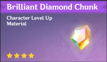 How to Get Brilliant Diamond Chunk and Effects