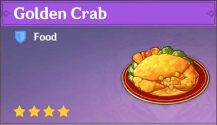 How to Get Golden Crab and Effects