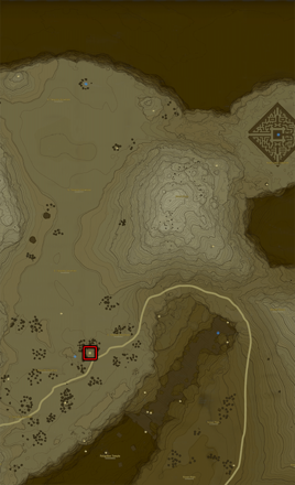 Breath of the Wild (BotW) Stables Top Center Map
