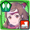 Hana - Focused Ninja Icon