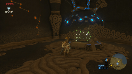 BoTW - Find Floating Leaves