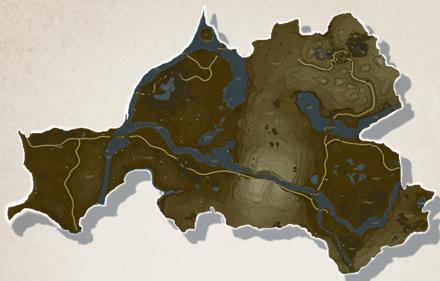 Dueling Peaks Tower Region Map