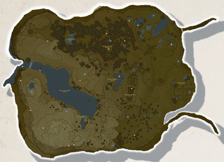 BotW - Great Plateau Tower Region