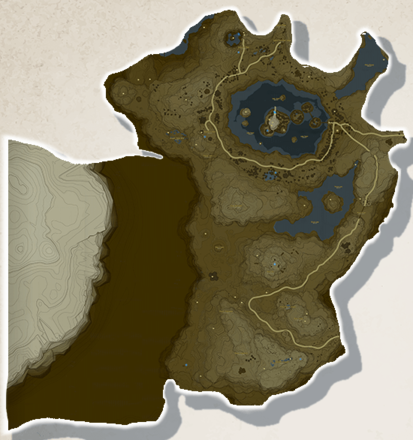 Tabantha Tower Region Map