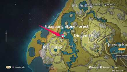 Huaguang stone forest location.jpg