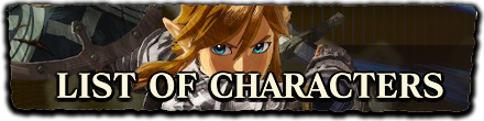 HW - List of Characters
