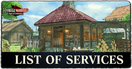 HW:AoC - List of Services