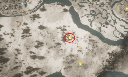 Axe Blizzard Location (AC Valhalla) Map View