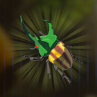 Rugged Rhino Beetle Icon