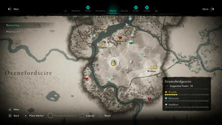Huntsman Armor Location Map.jpg
