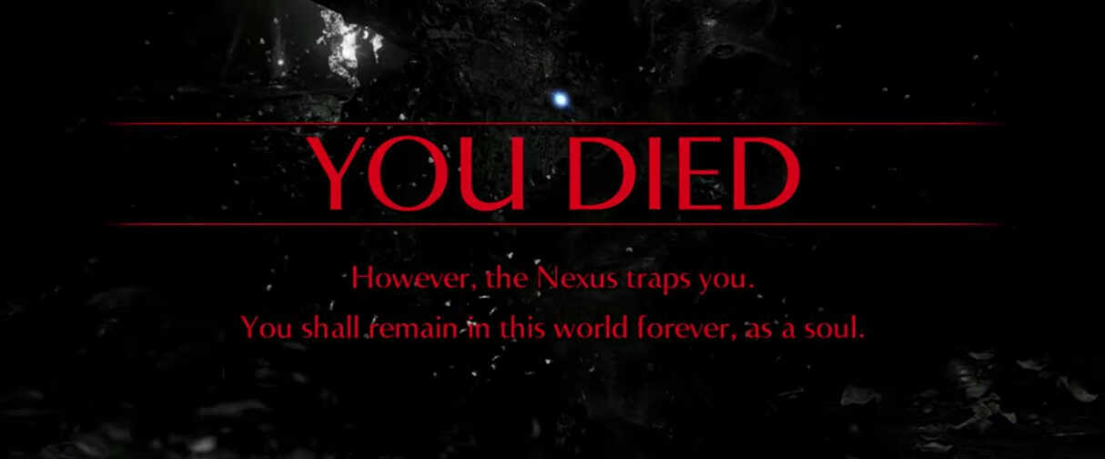 Remake You Died Screen