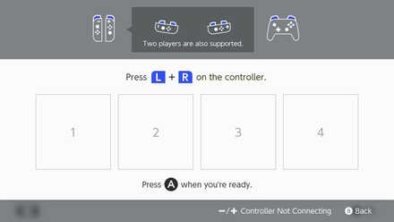 2. Press the L + R Buttons
