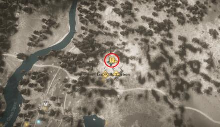 Feign Death Location (AC Valhalla) Map View