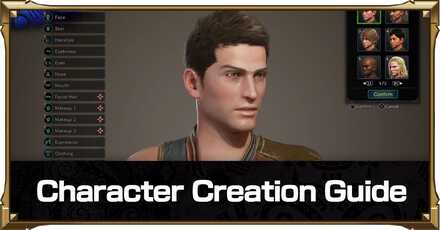 Character Creation Guide and How To Change Appearance