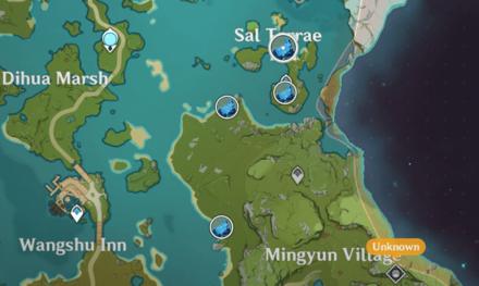 Genshin - Meteorite Locations