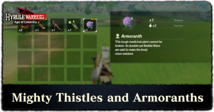 How to Farm Mighty Thistles and Armoranths Banner.png