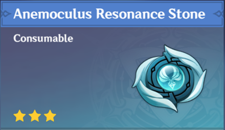 How to Get Anemoculus Resonance Stone and Effects