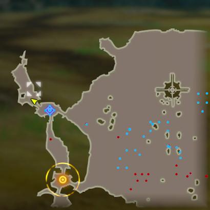 Battle of Hyrule Field Korok Seeds Map