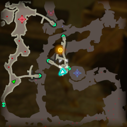 Road to Ancient Lab Korok Seeds Map