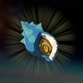 Hearty Blueshell Snail Icon