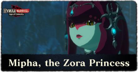 Mipha the Zora Princess Banner.png