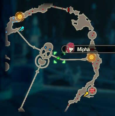 Mipha the Zora Princess Korok Seeds Map